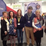 CB staff with Lizzie Noone WWGS at BT Yng Sc