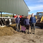 Down on the farm. Madam Sarah & Nelson with Andy Hughes & Martin Doyle
