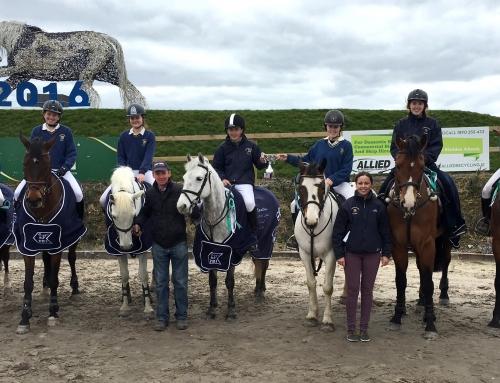 C.B. All Ireland Inter Schools Equestrian League Champions 2016