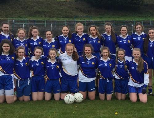 Junior Ladies Football County Champions 2016