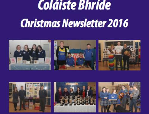 Christmas News Letter 2016